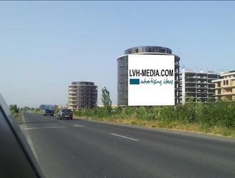 Мегаборд - Меш на пътя Слънчев Бряг - Бургас
